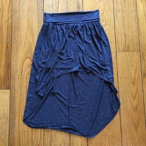F21 High Low Skirt